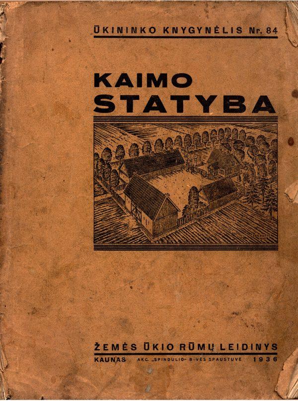 Žemės ūkio rūmai / Vladas Švipas Kaimo statyba 1936